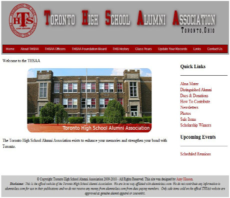 Toronto High School Alumni Association